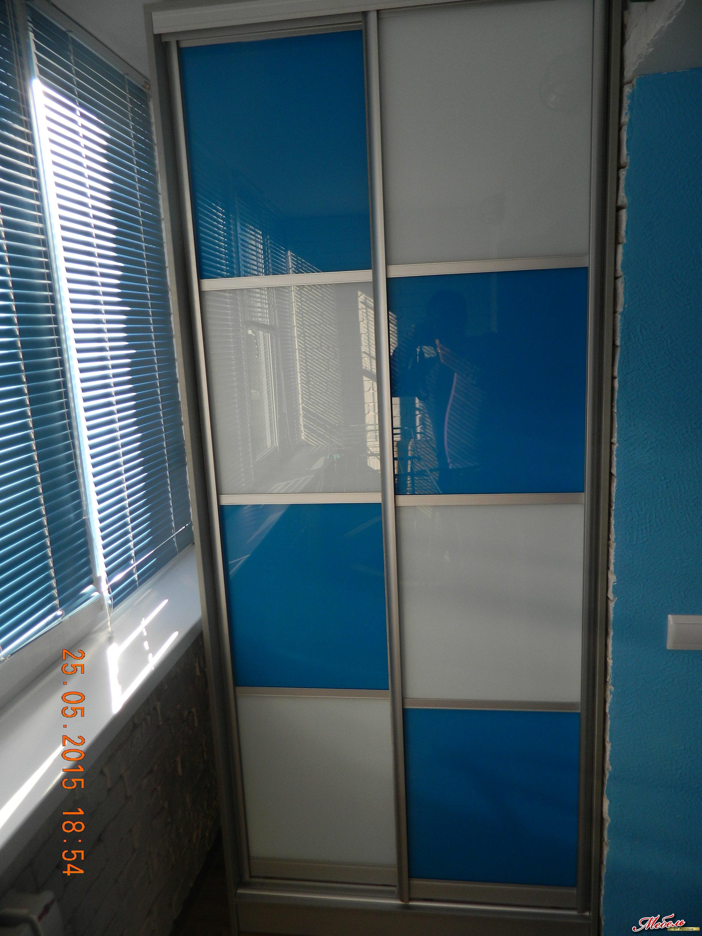 шкаф-купе на балкон ул.Коммунальная д.21