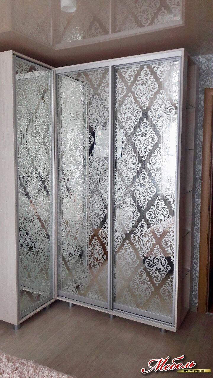 угловой шкаф-купе в спальню по ул.Щербакова
