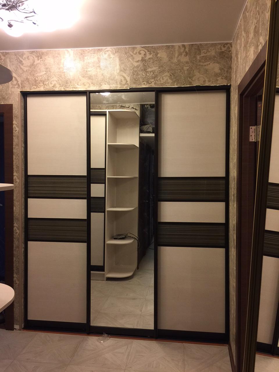 встроенный шкаф-купе в г.Москва